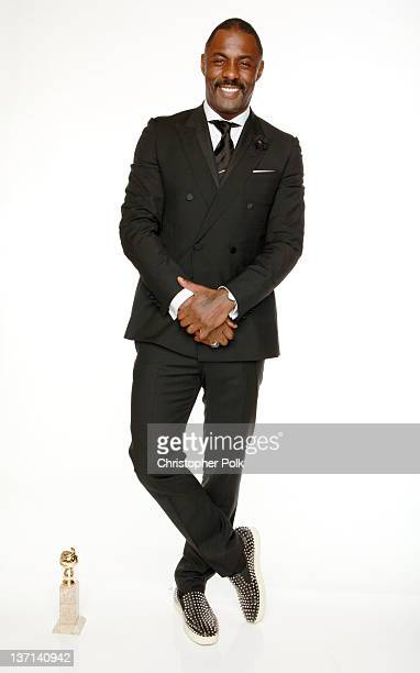 Actor Idris Elba winner of the Best Performance by an Actor in a MiniSeries or a Motion Picture Made for Television for 'Luther' poses for a portrait...