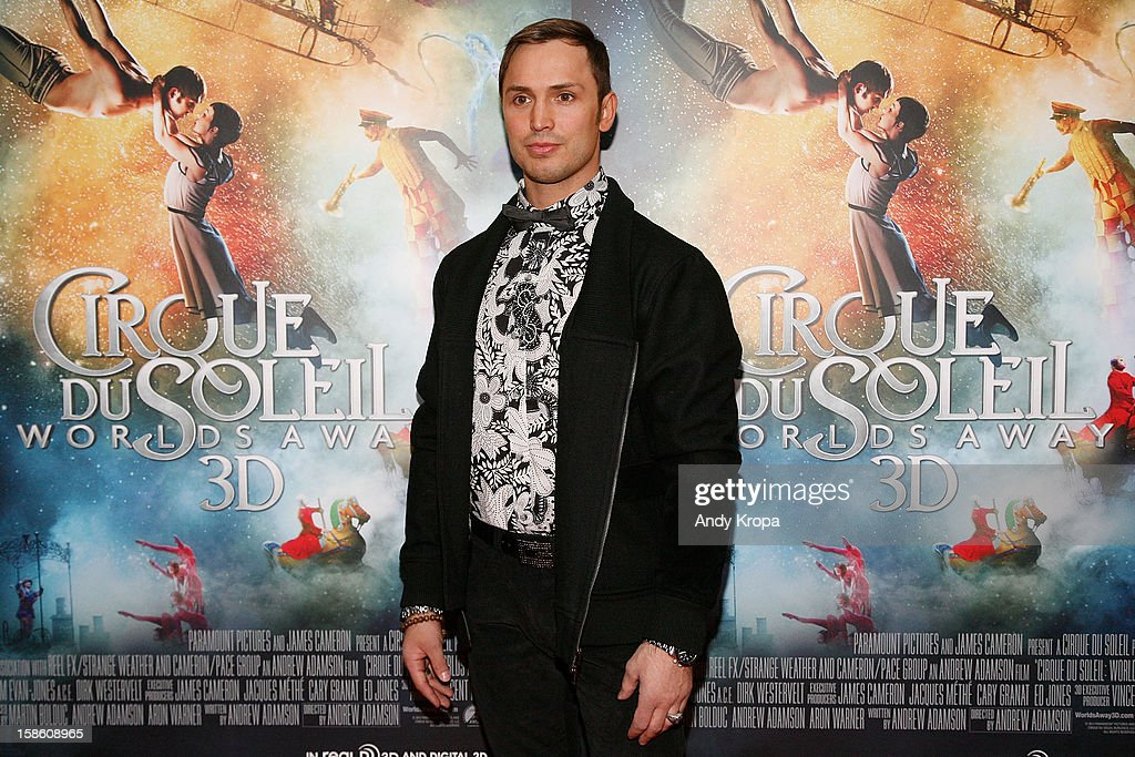 Actor Igor Zaripov attends 'Cirque Du Soleil: Worlds Away' New York Special Screening at Regal E-Walk on December 20, 2012 in New York City.