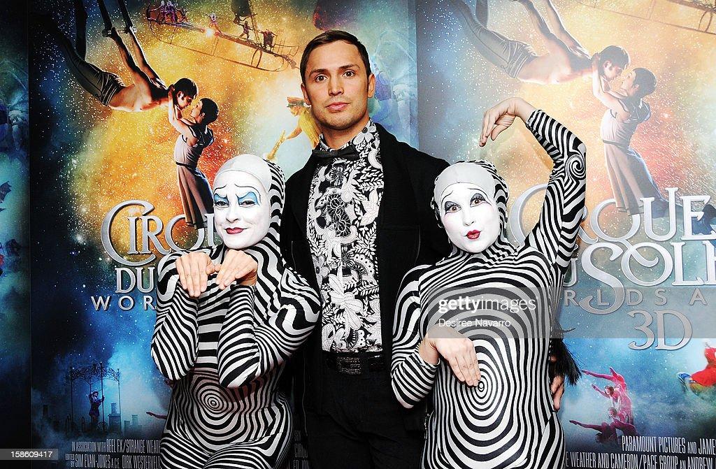 Actor Igor Zaripov attends 'Cirque Du Soleil: Worlds Away' New York Screening at Regal E-Walk on December 20, 2012 in New York City.