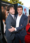 Actor Ike Barinholtz and writer/director Nicholas Stoller attends the premiere of Universal Pictures' 'Neighbors 2 Sorority Rising' at the Regency...