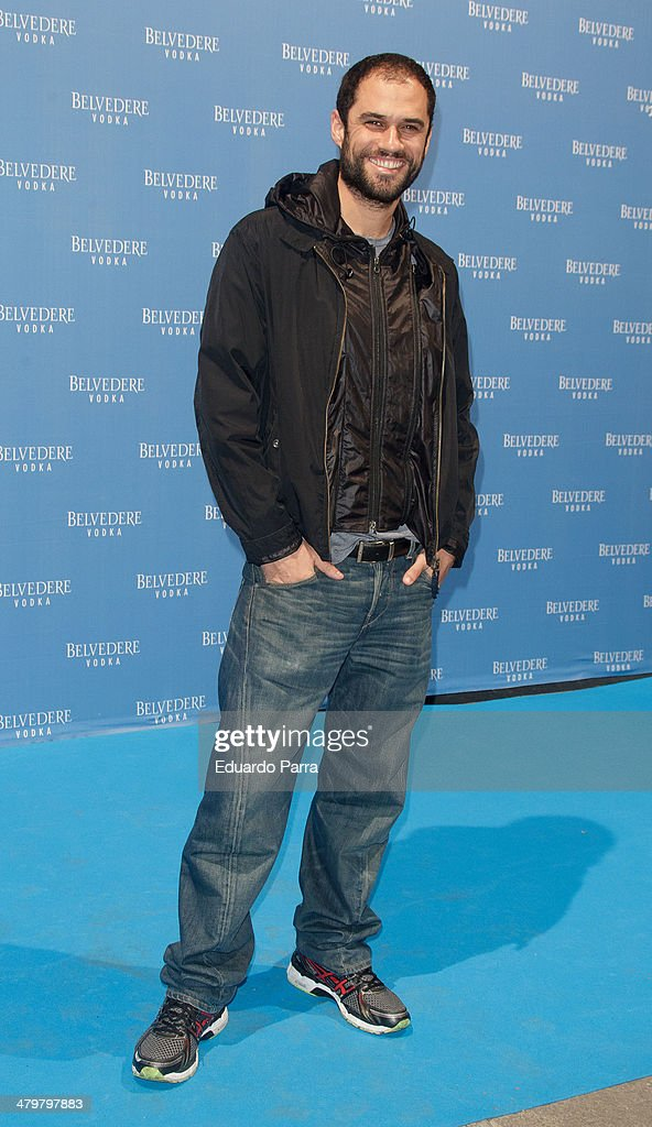 Actor Iker Lastra attends Belvedere Vodka party photocall at Principe Pio train station on March 20, 2014 in Madrid, Spain.