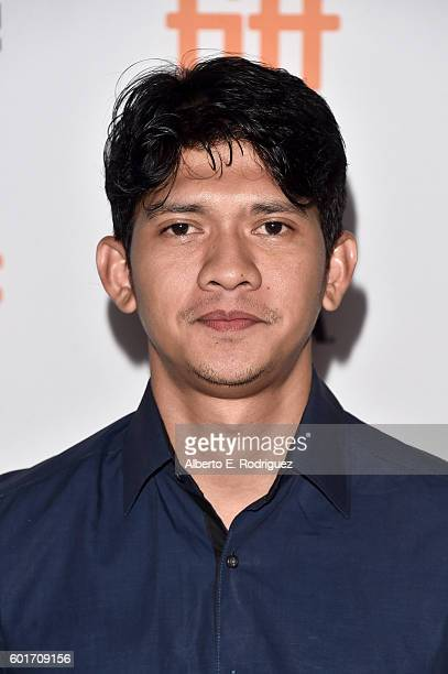 Actor Iko Uwais attends the 'Headshot' premiere during the 2016 Toronto International Film Festival at Ryerson Theatre on September 9 2016 in Toronto...