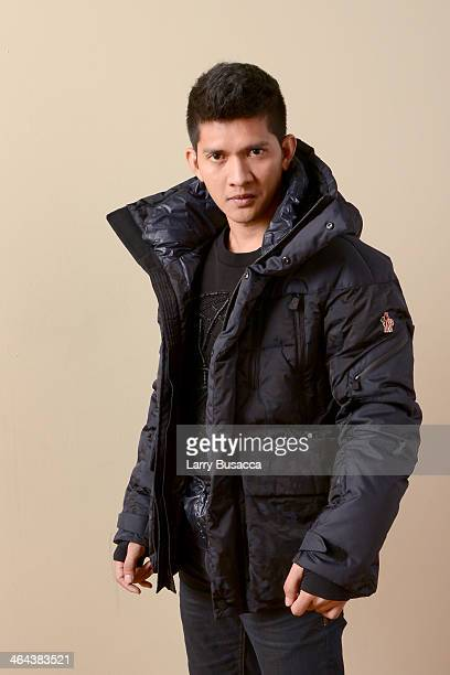 Actor Iko Uwais poses for a portrait during the 2014 Sundance Film Festival at the Getty Images Portrait Studio at the Village At The Lift Presented...