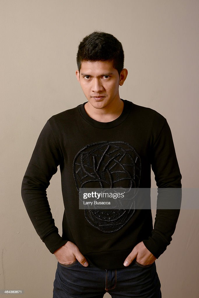 Actor Iko Uwais poses for a portrait during the 2014 Sundance Film Festival at the Getty Images Portrait Studio at the Village At The Lift Presented By McDonald's McCafe on January 22, 2014 in Park City, Utah.