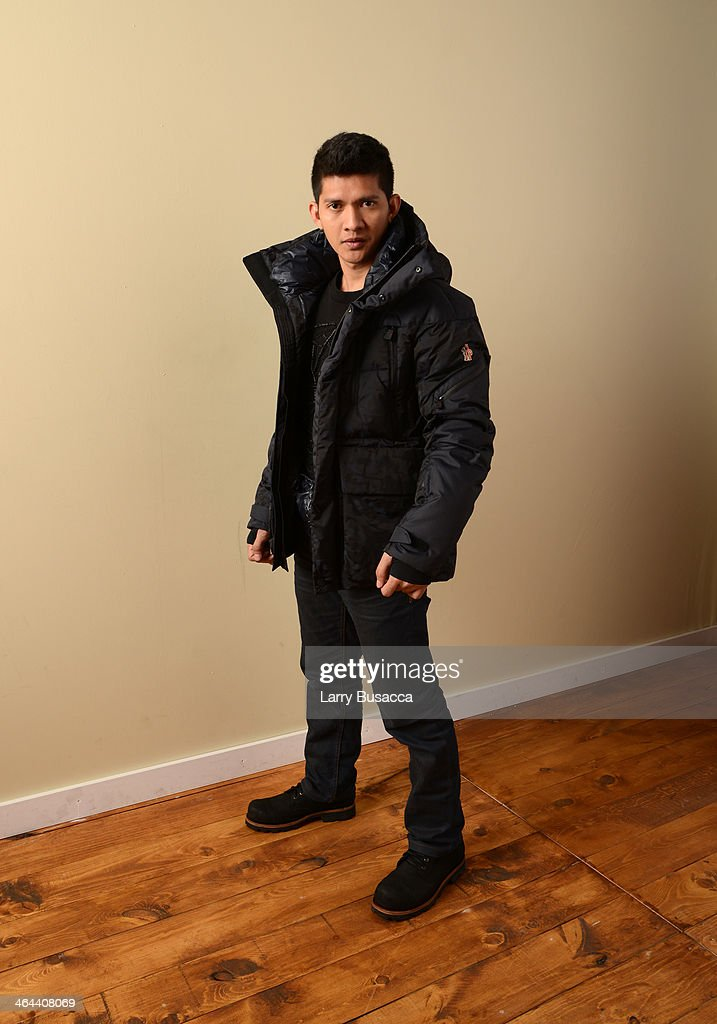 Actor <a gi-track='captionPersonalityLinkClicked' href=/galleries/search?phrase=Iko+Uwais&family=editorial&specificpeople=8212160 ng-click='$event.stopPropagation()'>Iko Uwais</a> poses for a portrait during the 2014 Sundance Film Festival at the Getty Images Portrait Studio at the Village At The Lift Presented By McDonald's McCafe on January 22, 2014 in Park City, Utah.