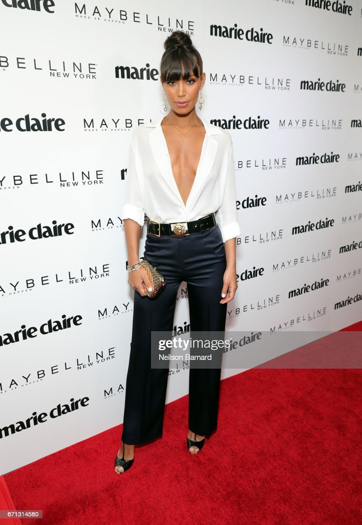 Actor Ilfenesh Hadera attends Marie Claire's 'Fresh Faces' celebration with an event sponsored by Maybelline at Doheny Room on April 21, 2017 in West Hollywood, California.