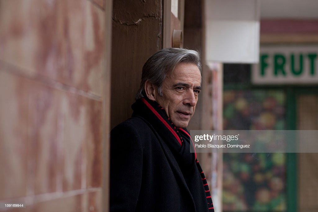Actor Imanol Arias attends 'Cuentame Como Paso' 14th Season presentation at Estudios Grupo Ganga on January 9, 2013 in Pinto, Spain.