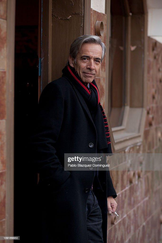 Actor Imanol Arias attends 'Cuentame Como Paso' 14th Season presentation at Estudios Grupo Ganga on January 9, 2013 in Pinto, Spain.