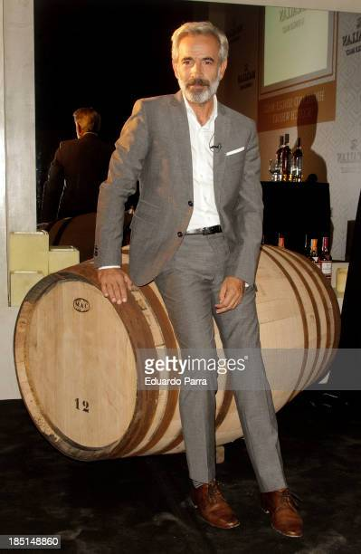 Actor Imanol Arias attends 'The 1824 series' whisky by The Macallan party photocall at 1113 Loft on October 17 2013 in Madrid Spain
