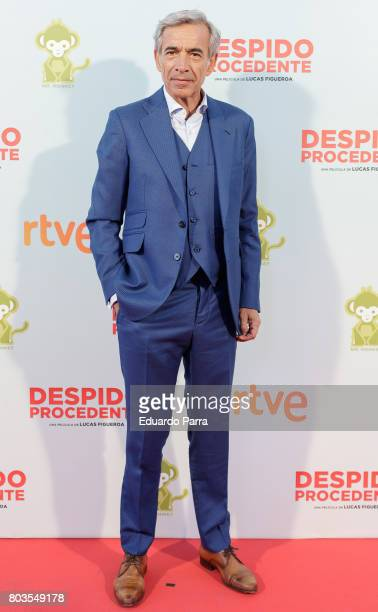 Actor Imanol Arias attends the 'Despido procedente' photocall at Callao cinema on June 29 2017 in Madrid Spain