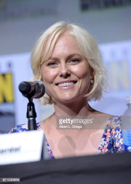 Actor Ingrid Bolso Berdal attends the 'Westworld' panel and QA Session during ComicCon International 2017 at San Diego Convention Center on July 22...