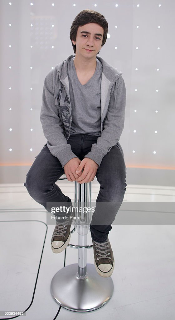 Actor Inigo Navares attends 'El hombre de tu vida' press conference at RTVE studios on May 24, 2016 in Madrid, Spain.