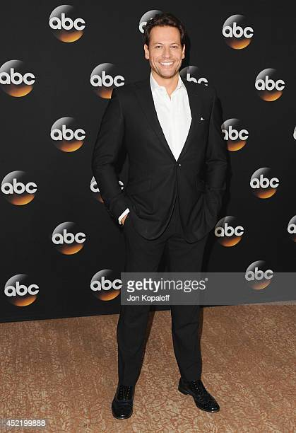 Actor Ioan Gruffudd arrives the Disney|ABC Television Group 2014 Television Critics Association Summer Press Tour at The Beverly Hilton Hotel on July...