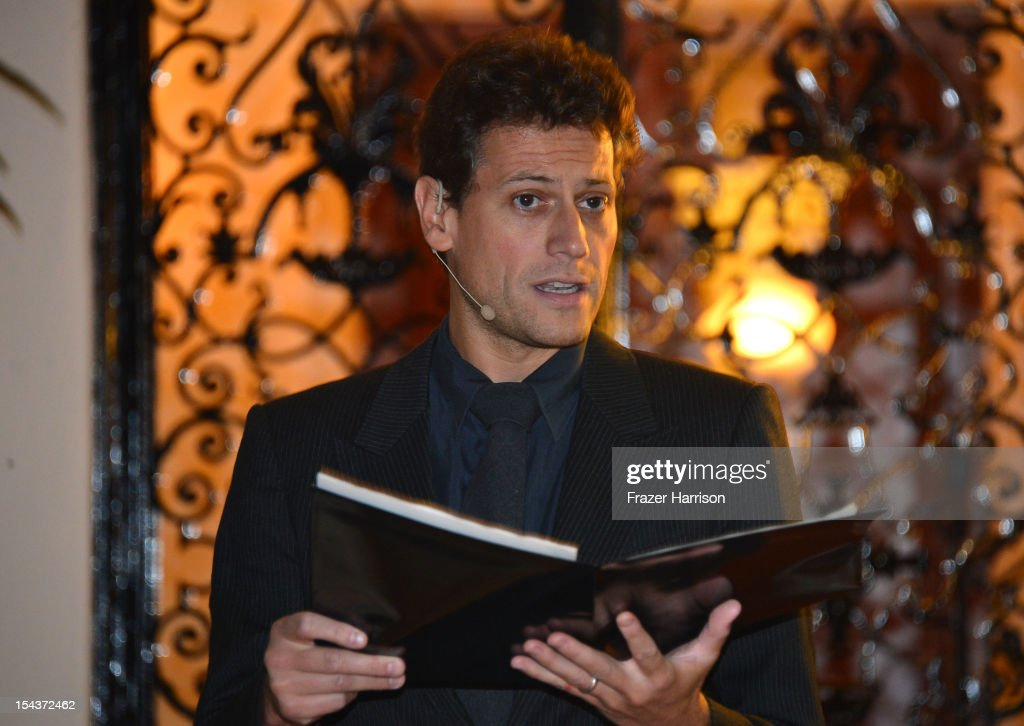 Actor <a gi-track='captionPersonalityLinkClicked' href=/galleries/search?phrase=Ioan+Gruffudd&family=editorial&specificpeople=212745 ng-click='$event.stopPropagation()'>Ioan Gruffudd</a> attend Wales Celebrates the launch of 'The Richard Burton Diaries' hosted by The Welsh Government, Swansea University and Yale University Press held at the British Consul-General residence, Hancock Park on October 18, 2012 in Los Angeles, California.