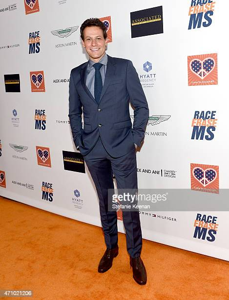 Actor Ioan Gruffudd attends the 22nd Annual Race To Erase MS Event at the Hyatt Regency Century Plaza on April 24 2015 in Century City California