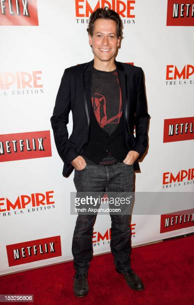 Actor Ioan Gruffudd attends the Empire Magazine the launch celebration of Empire US for iPad at Sunset Tower on October 2 2012 in West Hollywood...