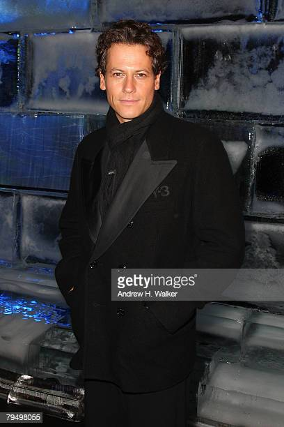 Actor Ioan Gruffudd attends the Y3 Fall 2008 fashion show at Pier 40 during MercedesBenz Fashion Week Fall 2008 on February 3 2008 in New York City