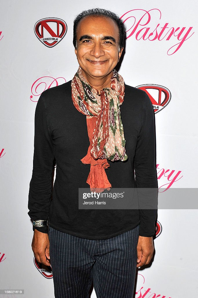 Actor Iqbal Theba arrives at Pastry Shoes 'Skate & Donate' benefitting Toys For Tots on December 8, 2012 in Glendale, California.