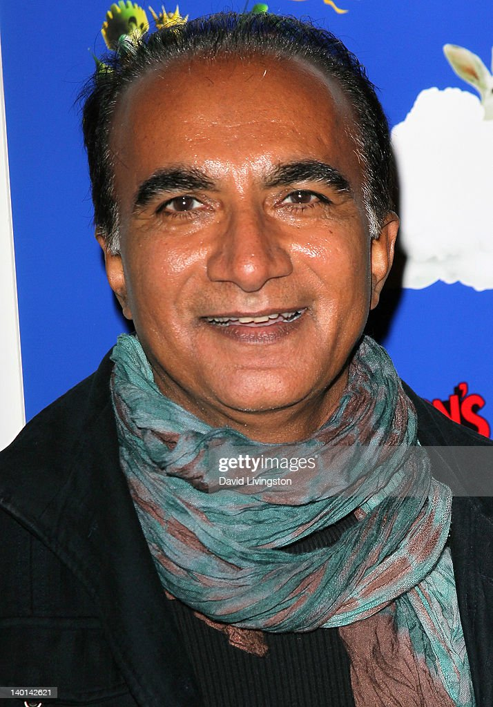 Actor Iqbal Theba attends the opening night of 'Monty Python's Spamalot' at the Pantages Theatre on February 28, 2012 in Hollywood, California.