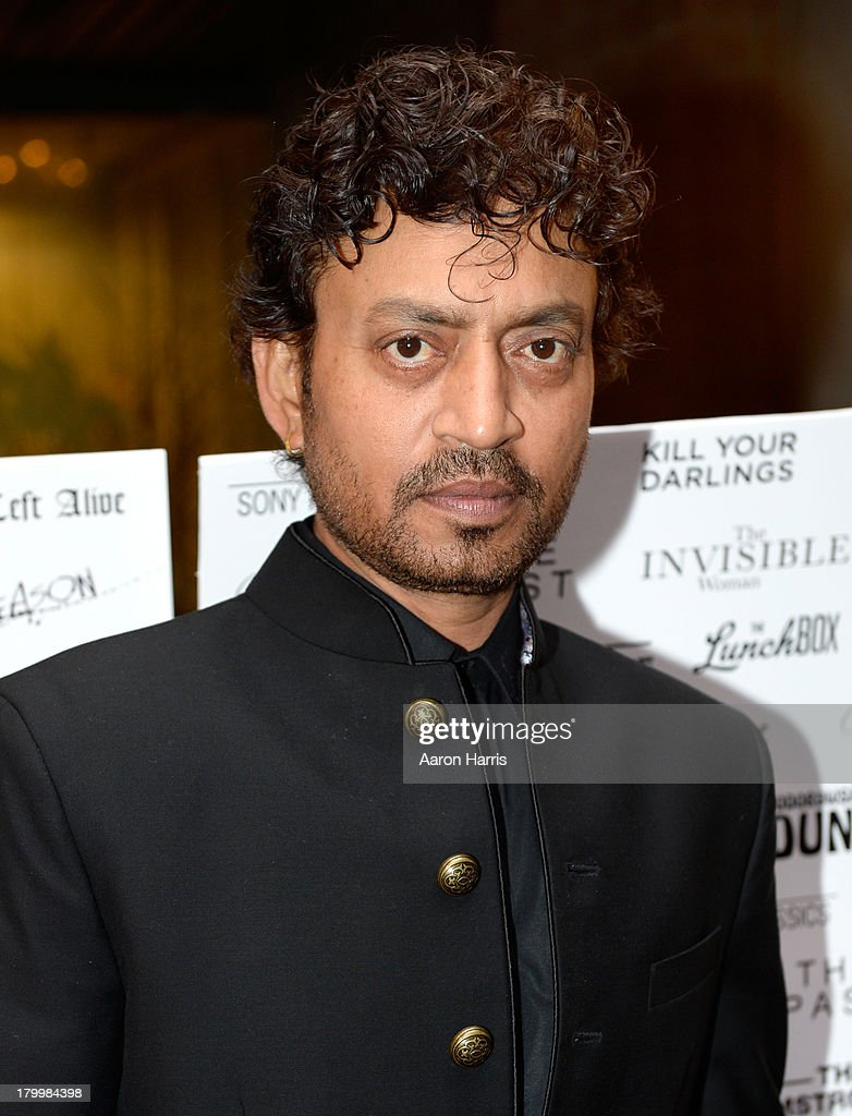 Actor Irrfan Khan attends the Sony Pictures Classics' cast dinner during the 2013 Toronto International Film Festival at Creme Brasserie on September 7, 2013 in Toronto, Canada.