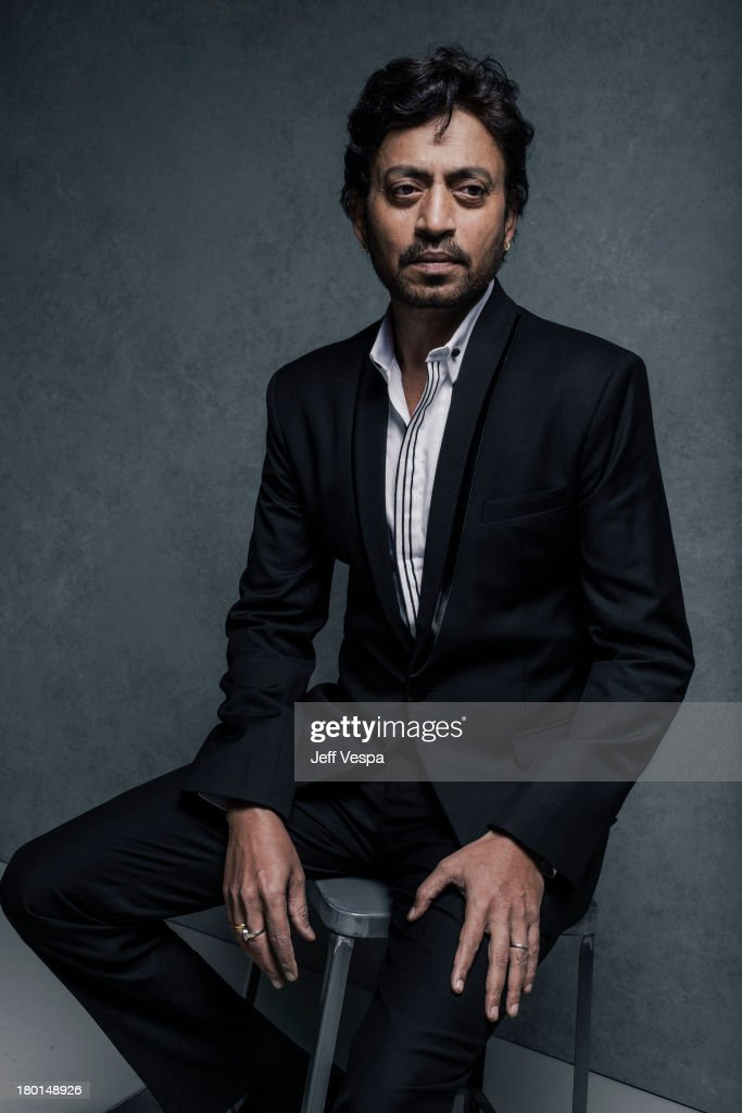 Actor Irrfan Khan is photographed at the Toronto Film Festival on September 7, 2013 in Toronto, Ontario.