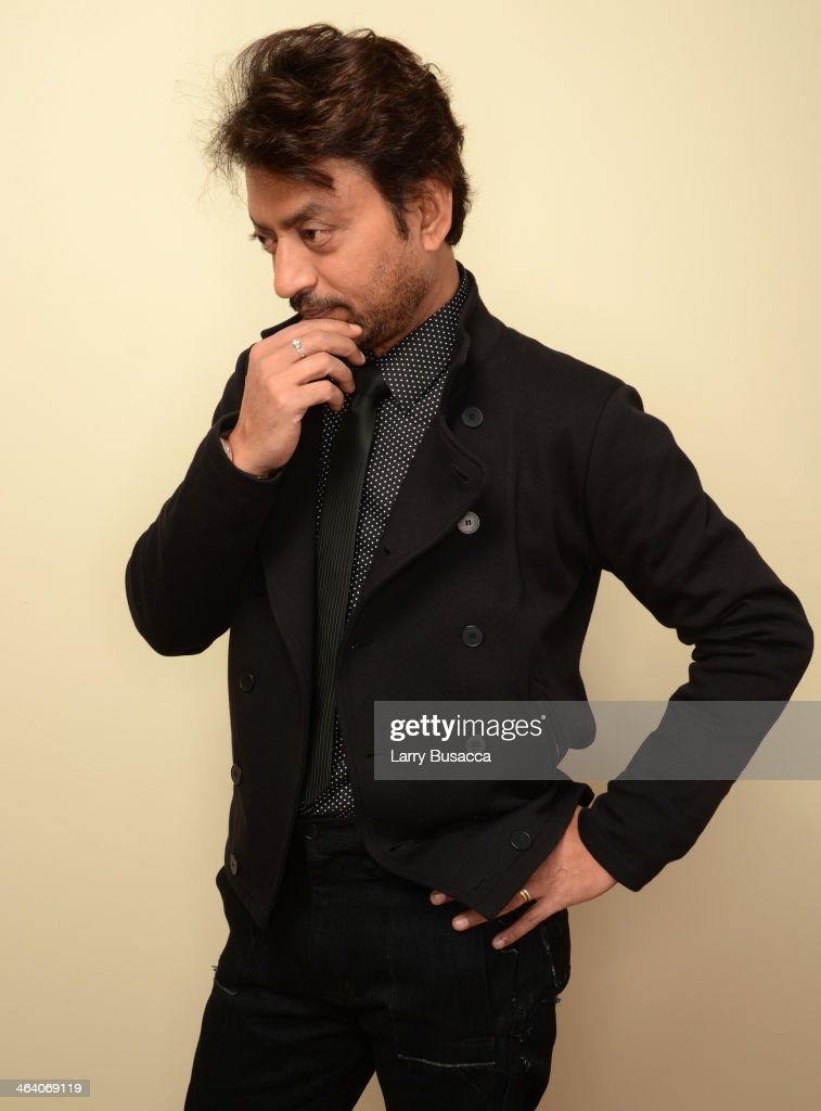 Actor Irrfan Khan poses for a portrait during the 2014 Sundance Film Festival at the Getty Images Portrait Studio at the Village At The Lift Presented By McDonald's McCafe on January 20, 2014 in Park City, Utah.