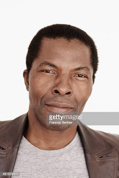 Actor Isaac de Bankole is photographed for Self Assignment on May 16 2014 in Cannes France
