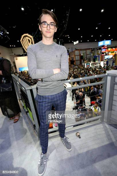 Actor Isaac Hempstead Wright at the 'Game of Thrones' autograph signing with HBO at San Diego ComicCon International 2017 at San Diego Convention...