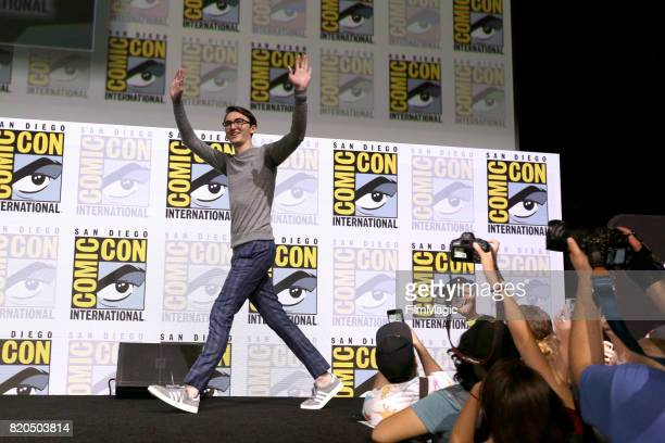 Actor Isaac Hempstead Wright at the 'Game of Thrones' panel with HBO at San Diego ComicCon International 2017 at San Diego Convention Center on July...