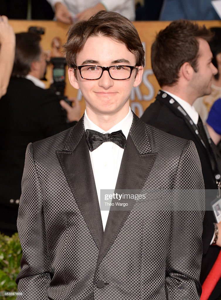 Actor Isaac Hempstead Wright attends 20th Annual Screen Actors Guild Awards at The Shrine Auditorium on January 18, 2014 in Los Angeles, California.