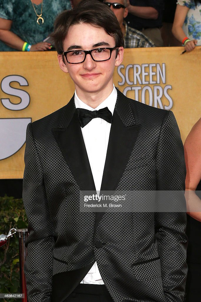 Actor Isaac Hempstead Wright attends the 20th Annual Screen Actors Guild Awards at The Shrine Auditorium on January 18, 2014 in Los Angeles, California.