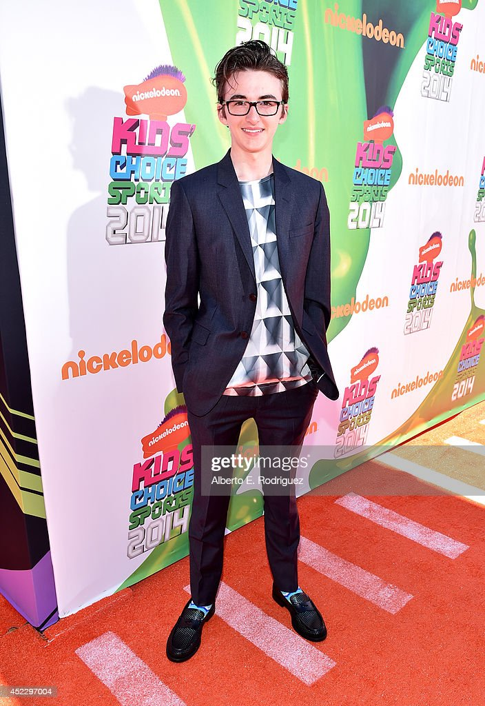 Actor <a gi-track='captionPersonalityLinkClicked' href=/galleries/search?phrase=Isaac+Hempstead-Wright&family=editorial&specificpeople=8569905 ng-click='$event.stopPropagation()'>Isaac Hempstead-Wright</a> attends Nickelodeon Kids' Choice Sports Awards 2014 at UCLA's Pauley Pavilion on July 17, 2014 in Los Angeles, California.