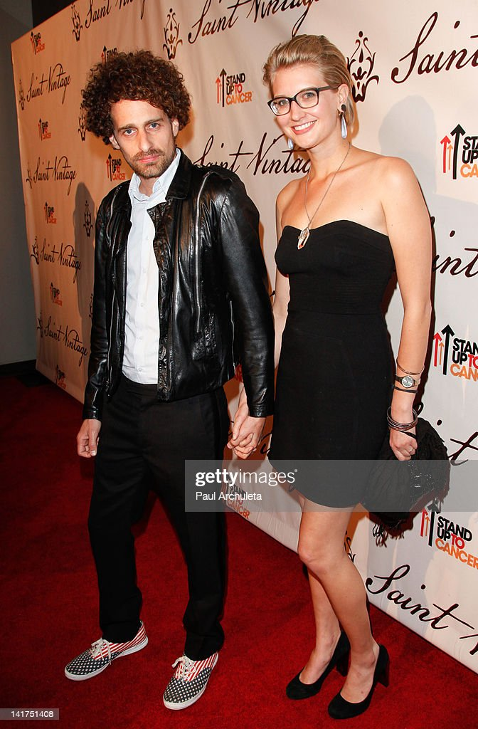 Actor Isaac Kappy (L) attends the Saint Vintage Love Tour ...