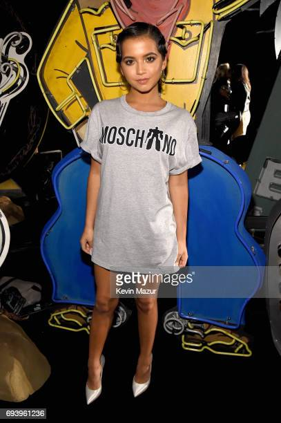 Actor Isabela Moner attends Moschino Spring/Summer 18 Menswear and Women's Resort Collection at Milk Studios on June 8 2017 in Hollywood California