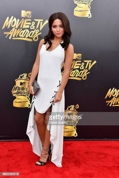 Actor Isabela Moner attends the 2017 MTV Movie and TV Awards at The Shrine Auditorium on May 7 2017 in Los Angeles California