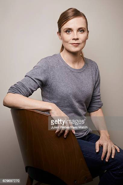 Actor Isabelle Carre is photographed for Paris Match on November 18 2016 in London England