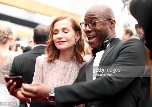 Actor Isabelle Huppert and writer/director Barry Jenkins attend the 89th Annual Academy Awards at Hollywood Highland Center on February 26 2017 in...