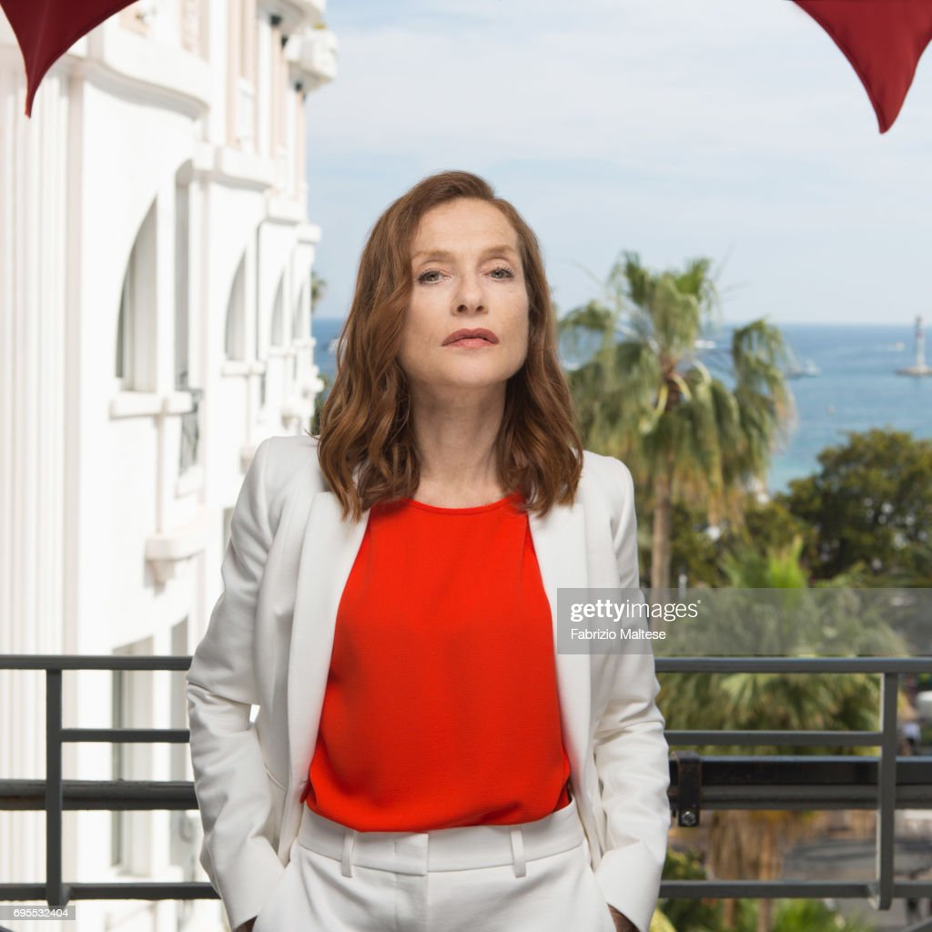 Actor Isabelle Huppert is photographed for the Hollywood Reporter on May 24, 2017 in Cannes, France.