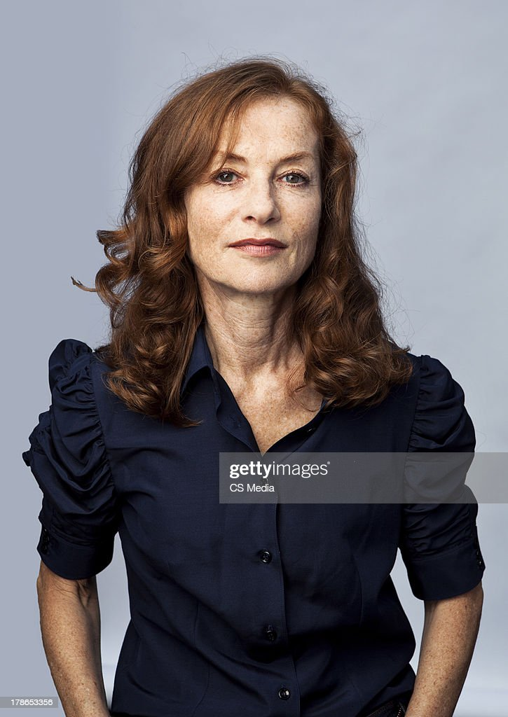 Isabelle Huppert, Portrait shoot, September 12, 2011