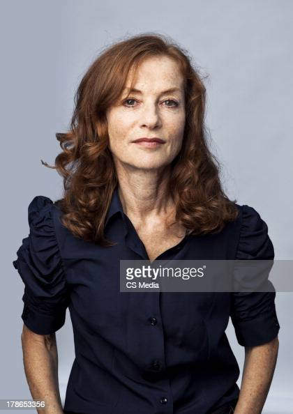 Actor Isabelle Huppert is photographed on September 12 2011 in Toronto Ontario