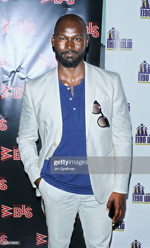 Actor Isaiah Johnson attends the WBLS 107.5 & 1190 WLIB celebrate black music month with Broadway's 'The Color Purple' on June 27, 2016 in New York City.