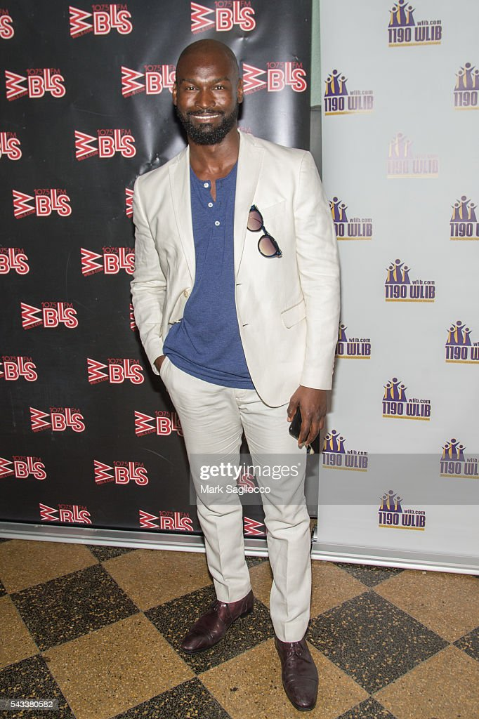 Actor Isaiah Johnson attends the WBLS 107.5 & 1190 WLIB Celebration of Black Music Month with Broadway's 'The Color Purple' on June 27, 2016 in New York City.