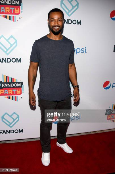 Actor Isaiah Mustafa at FANDOM's Annual ComicCon KickOff Party at Float at Hard Rock Hotel San Diego on July 20 2017 in San Diego California