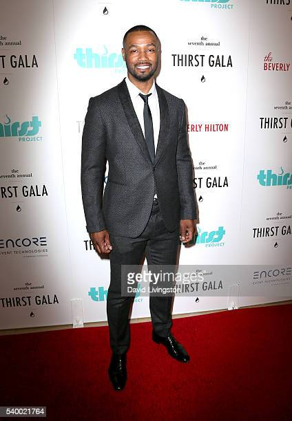 Actor Isaiah Mustafa attends the 7th Annual Thirst Gala at The Beverly Hilton Hotel on June 13 2016 in Beverly Hills California