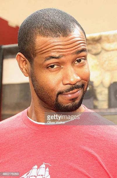 Actor Isaiah Mustafa attends the Inaugural Old Spice Holispray Holiday Toy Donation And Exchange Benefit For Second Chance Toys at Hollywood High...