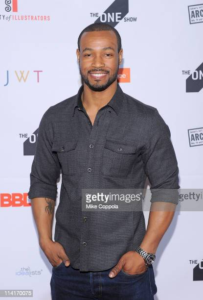 Actor Isaiah Mustafa attends the One Show Interactive awards at Terminal 5 on May 13 2011 in New York City