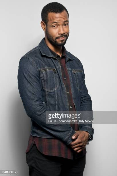 Actor Isaiah Mustafa is photographed for NY Daily News on October 8 2016 at Comic Con in New York City CREDIT MUST READ Laura Thompson/New York Daily...