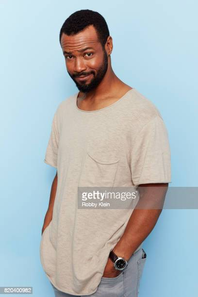 Actor Isaiah Mustafa of Freeform's 'Shadowhunters' poses for a portrait during ComicCon 2017 at Hard Rock Hotel San Diego on July 20 2017 in San...