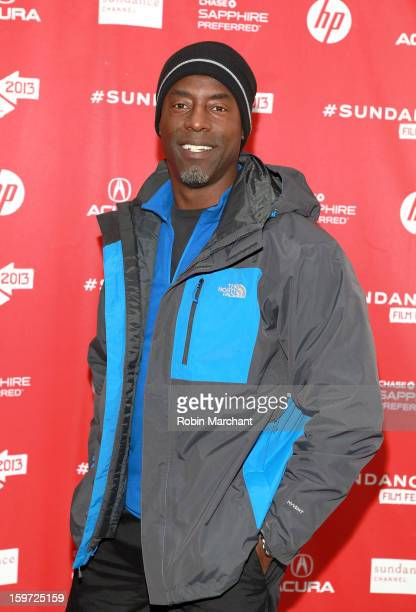 Actor Isaiah Washington attends the 'Blue Caprice' premiere at Library Center Theater during the 2013 Sundance Film Festival on January 19 2013 in...