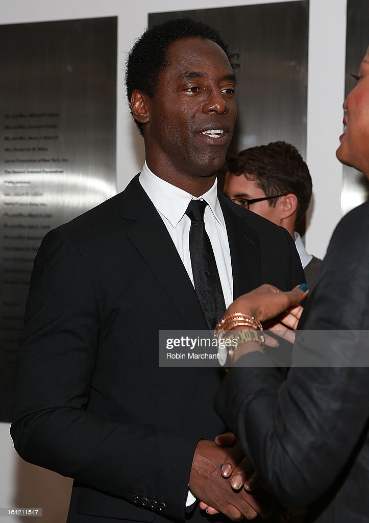 Actor Isaiah Washington attends the New Directors/New Films 2013 Opening Night screening of 'Blue Caprice' at the Museum of Modern Art on March 20, 2013 in New York City.